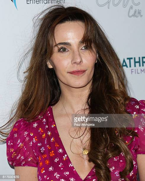 Actress Lisa Sheridan attends the premiere of Only God Can at Laemmle NoHo 7 on March 22 2016 in North Hollywood California