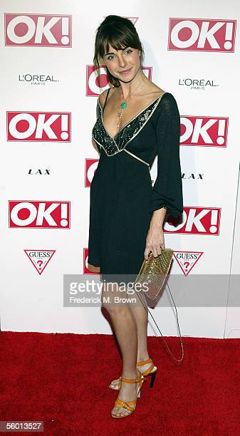 Actress Lisa Sheridan attends the United States debut of OK Magazine at the LAX Club on October 25 2005 in Hollywood California