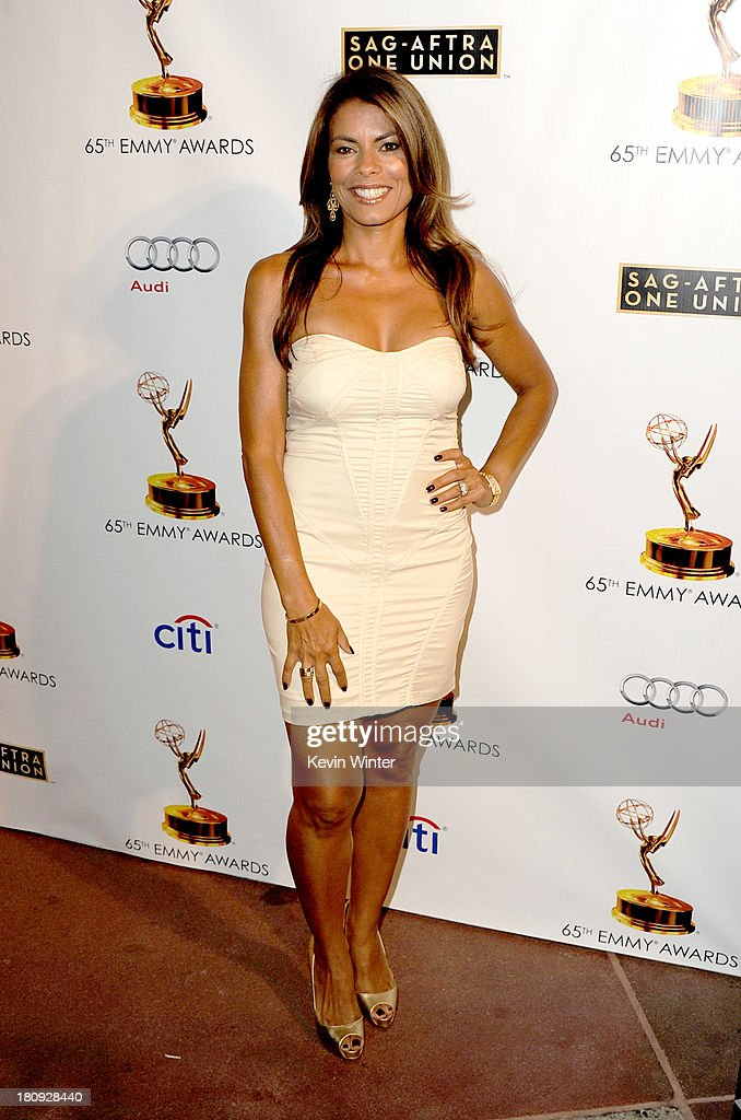 Actress Lisa Vidal arrives at The Academy of Television Arts & Sciences and SAG-AFTRA celebration of the 65th Primetime Emmy Award nominees at the Television Academy on September 17, 2013 in No. Hollywood, California.