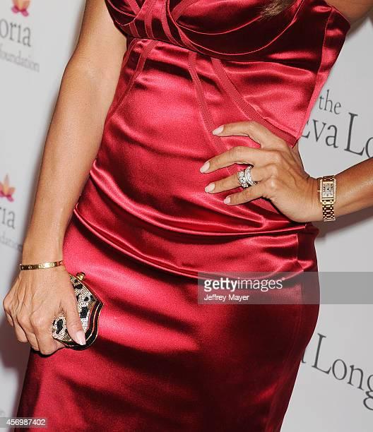 Actress Lisa Vidal at Eva Longoria's Foundation dinner at Beso on October 9 2014 in Hollywood California