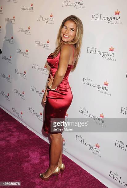 Actress Lisa Vidal attends Eva Longoria's Foundation dinner at Beso on October 9 2014 in Hollywood California