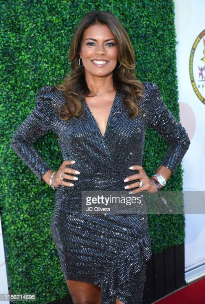 Actress Lisa Vidal attends Salsa Night for a Place Called Home Global Gift Foundation USA hosted by Andrea Navedo at Casita Hollywood on June 15 2019...