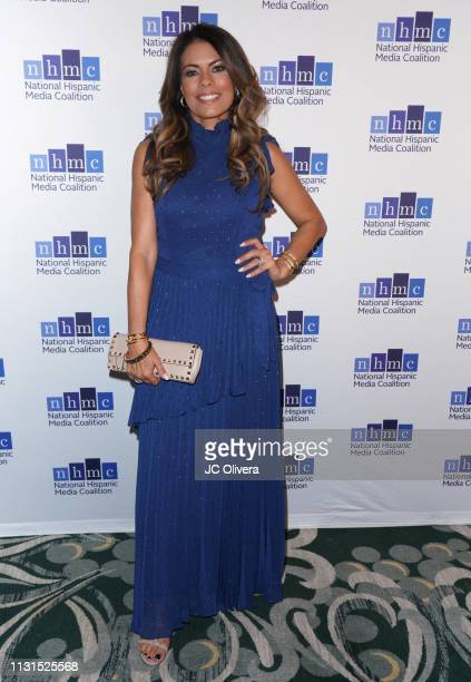 Actress Lisa Vidal attends the 22nd Annual National Hispanic Media Coalition Impact Awards Gala at Regent Beverly Wilshire Hotel on February 22 2019...