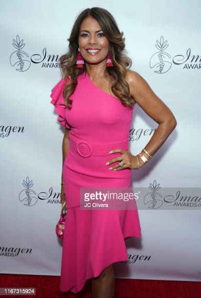 Actress Lisa Vidal attends the 34th Annual Imagen Awards at the Beverly Wilshire Four Seasons Hotel on August 10 2019 in Beverly Hills California