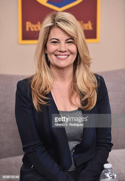 Actress Lisa Whelchel attends Hallmark's Home and Family Facts Of Life Reunion at Universal Studios Backlot on February 12 2016 in Universal City...