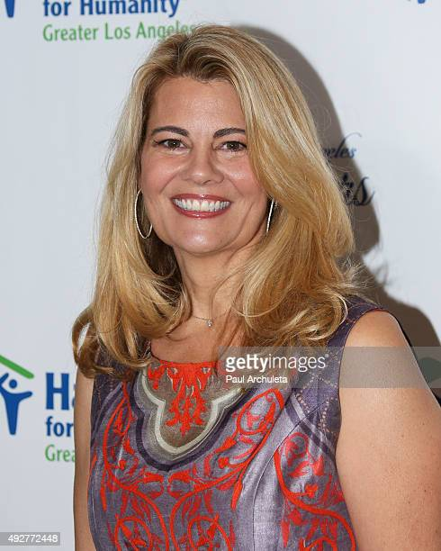 Actress Lisa Whelchel attends the Habitat For Humanity of Los Angeles Builders Ball at the Beverly Wilshire Four Seasons Hotel on October 14, 2015 in...