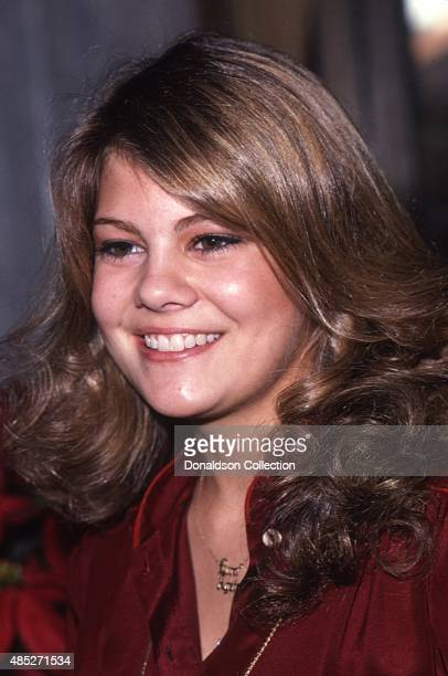Actress Lisa Whelchel from the TV show The Facts Of Life attends an event in 1980 in Los Angeles California