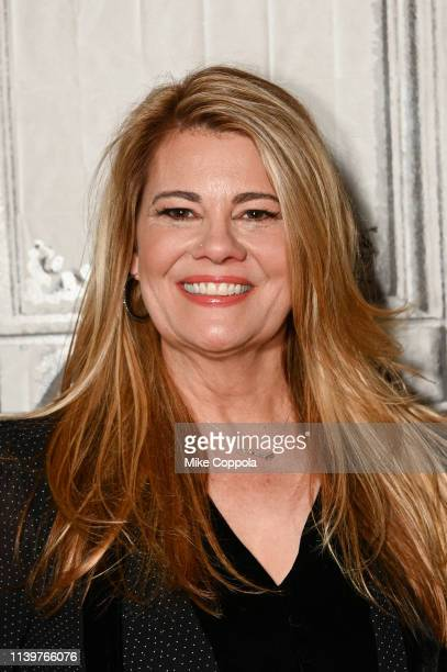 Actress Lisa Whelchel visits Build Studio on April 01, 2019 in New York City.