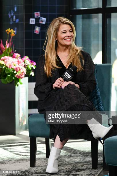 Actress Lisa Whelchel visits Build Studio on April 01 2019 in New York City