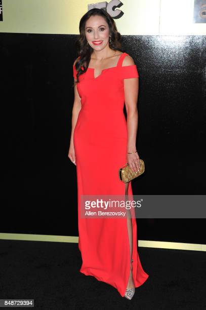 Actress Lisandra Tena attends AMC Networks 69th Primetime Emmy Awards after party celebration at BOA Steakhouse on September 17 2017 in West...