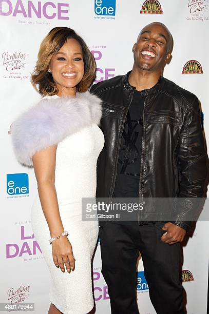 Actress LisaRaye McCoy and Actor/Director Datari Turner attend the Los Angeles Premiere of the film Lap Dance at ArcLight Cinemas on December 8 2014...