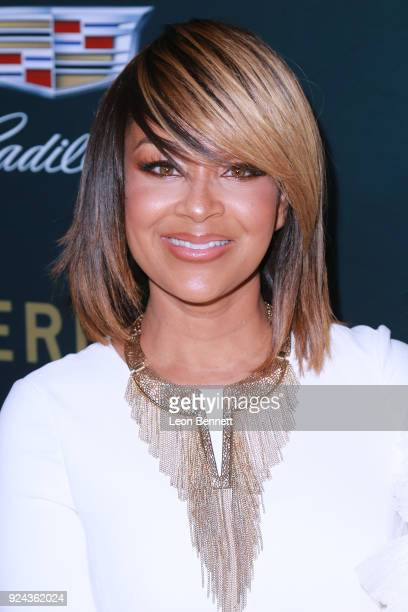 Actress LisaRaye McCoy attends the 2018 American Black Film Festival Honors Awards at The Beverly Hilton Hotel on February 25 2018 in Beverly Hills...
