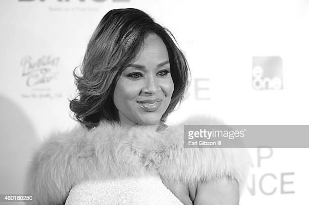 Actress LisaRaye McCoy attends the Los Angeles Premiere of the film Lap Dance at ArcLight Cinemas on December 8 2014 in Hollywood California