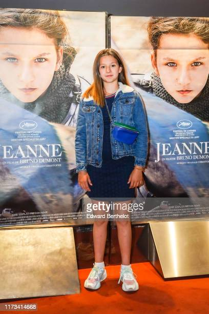 Actress Lise Leplat Prudhomme seen during the Jeanne Premiere photocall at UGC Cine Cite des Halles on September 09 2019 in Paris France