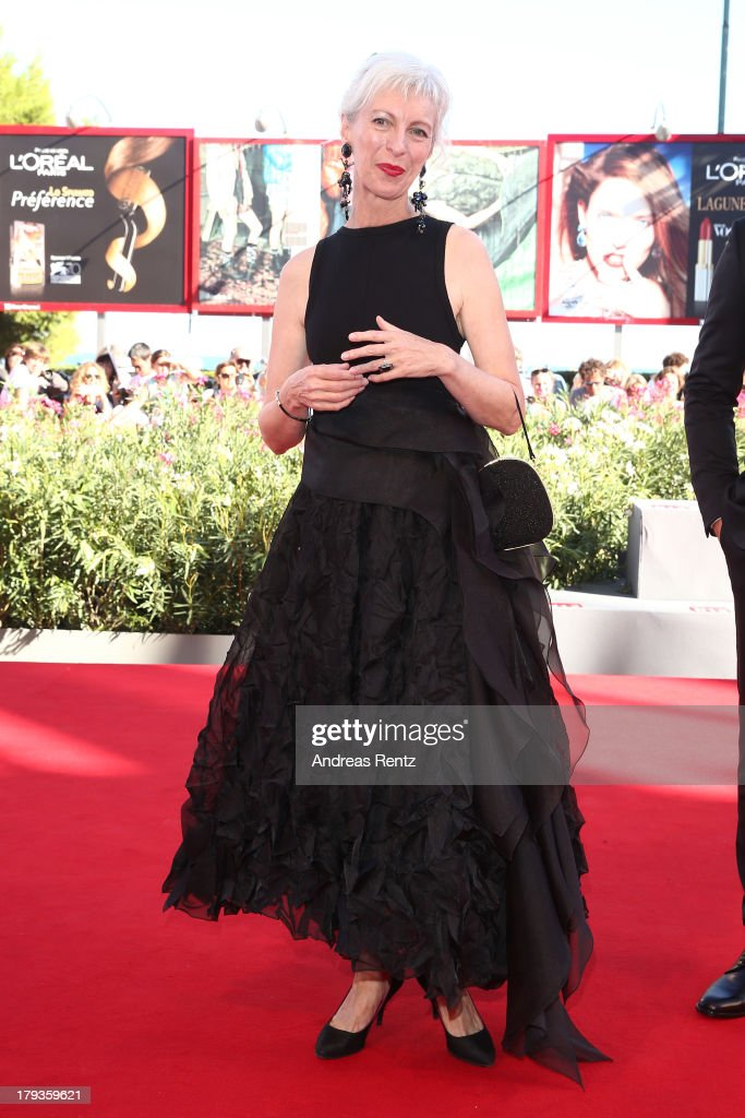 Actress Lise Roy attends the 'Tom At The Farm' Premiere during the 70th Venice International Film Festival at the Palazzo del Cinema on September 2, 2013 in Venice, Italy.