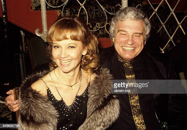 Actress Liselotte Pulver and husband Helmut Schmid actor and director