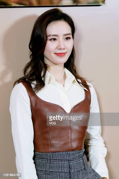 Actress Liu Shishi attends Tod's event on October 23, 2020 in Shanghai, China.