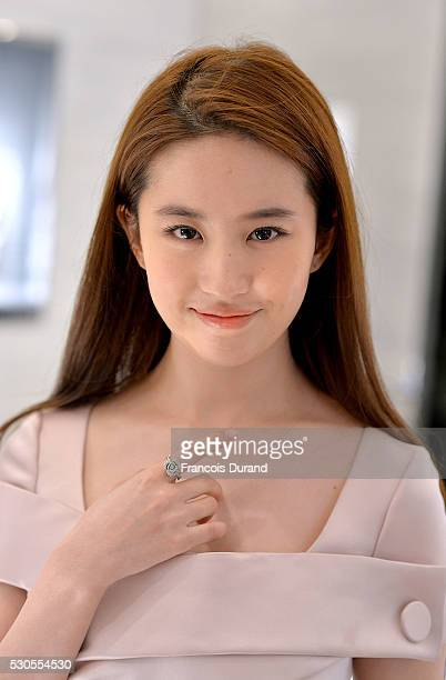 Actress Liu Yifei attends the Dior Boutique Opening during the 69th Annual Cannes Film Festival on May 11, 2016 in Cannes, France.
