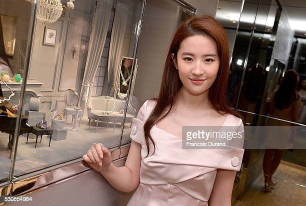 Actress Liu Yifei attends the Dior Boutique Opening during the 69th Annual Cannes Film Festival on May 11 2016 in Cannes France