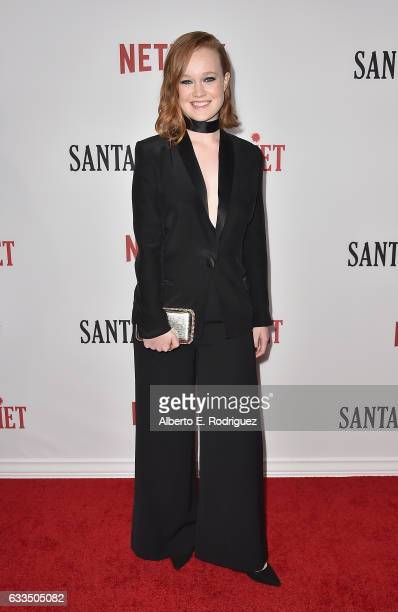 Actress Liv Hewson attends the premiere Netflix's Santa Clarita Diet at ArcLight Cinemas Cinerama Dome on February 1 2017 in Hollywood California
