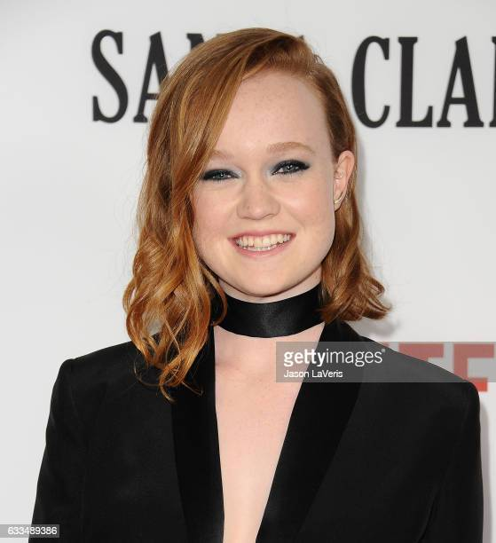 Actress Liv Hewson attends the premiere of Santa Clarita Diet at ArcLight Cinemas Cinerama Dome on February 1 2017 in Hollywood California