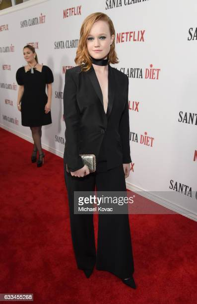 Actress Liv Hewson attends the Santa Clarita Diet Premiere on February 1 2017 in Los Angeles California