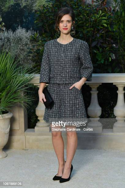 Actress Liv Lisa Fries attends the Chanel Haute Couture Spring Summer 2019 show as part of Paris Fashion Week on January 22 2019 in Paris France