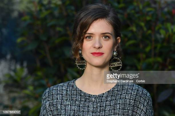 Actress Liv Lisa Fries attends the Chanel Haute Couture Spring Summer 2019 show as part of Paris Fashion Week on January 22, 2019 in Paris, France.