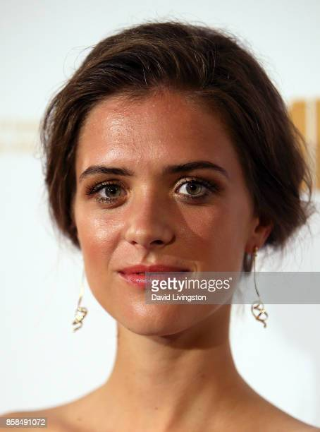 Actress Liv Lisa Fries attends the premiere of Beta Film's Babylon Berlin at The Theatre at Ace Hotel on October 6 2017 in Los Angeles California
