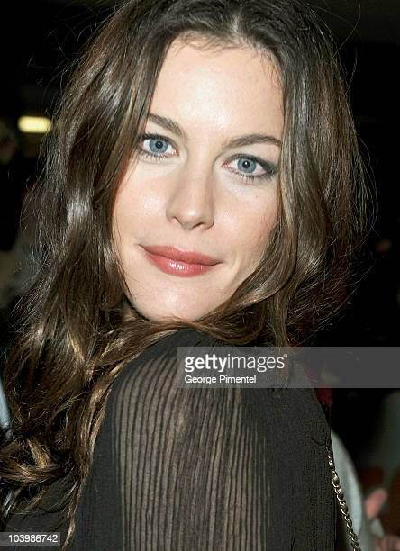 Actress Liv Tyler arrives at the Super Premiere held at Ryerson Theatre during the 35th Toronto International Film Festival on September 10 2010 in...