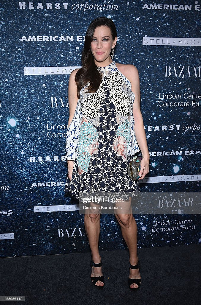 Actress Liv Tyler attends 2014 Women's Leadership Award Honoring Stella McCartney at Alice Tully Hall at Lincoln Center on November 13, 2014 in New York City.