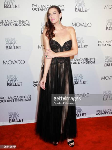 Actress Liv Tyler attends the 2011 New York City Ballet Fall Gala at the David Koch Theatre at Lincoln Center on September 22 2011 in New York City
