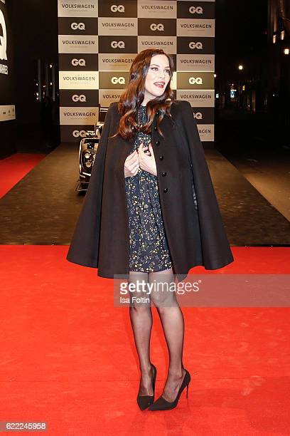 US actress Liv Tyler attends the GQ Men of the year Award 2016 at Komische Oper on November 10 2016 in Berlin Germany