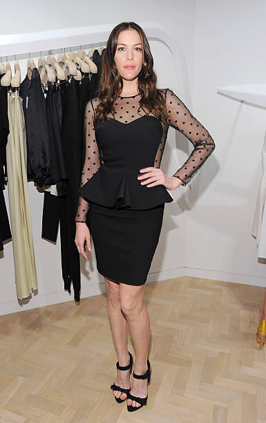 c8456a7a18ad Actress Liv Tyler attends the launch of the new Stella McCartney boutique  at Saks Fifth Avenue