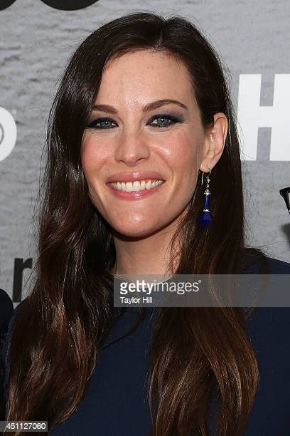Actress Liv Tyler attends The Leftovers premiere at NYU Skirball Center on June 23 2014 in New York City