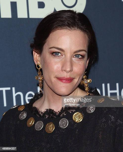 Actress Liv Tyler attends 'The Normal Heart' New York Screening at Ziegfeld Theater on May 12 2014 in New York City