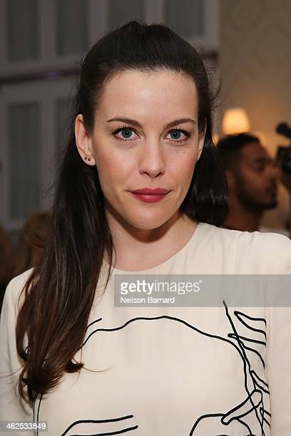 Actress Liv Tyler attends the Stella McCartney Autumn 2014 presentation at Harold Pratt House Peterson Hall on January 13 2014 in New York City