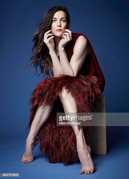 Actress Liv Tyler is photographed for The Observer Magazine on August 17 2014 in New York City
