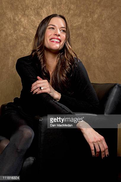 Actress Liv Tyler is photographed for USA Today on March 21 2011 in Los Angeles California Published Image