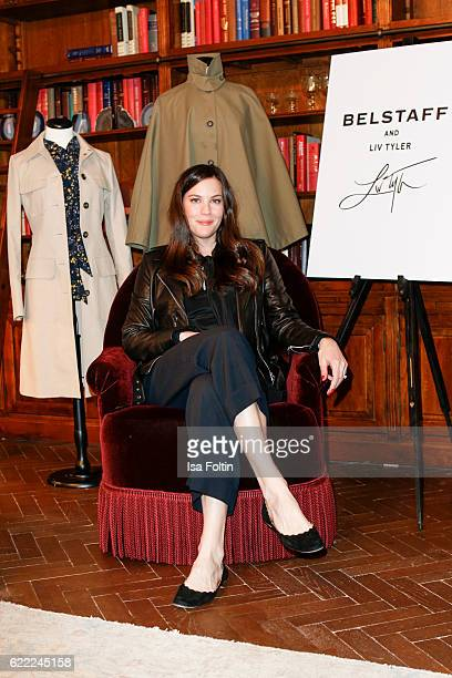 Actress Liv Tyler is seen ahead of the GQ Men of the year Award 2016 at Soho House on November 10 2016 in Berlin Germany