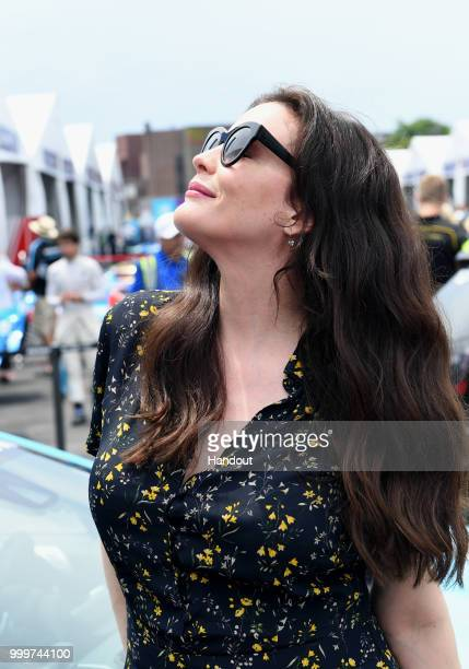 Actress Liv Tyler on July 14 2018 in New York United States