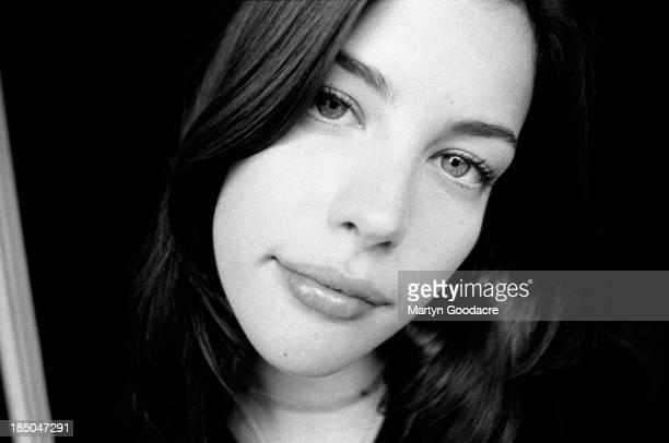 Actress Liv Tyler, portrait, London, United Kingdom, 1996.