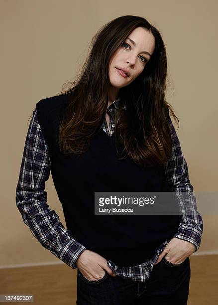 Actress Liv Tyler poses for a portrait during the 2012 Sundance Film Festival at the Getty Images Portrait Studio at TMobile Village at the Lift on...