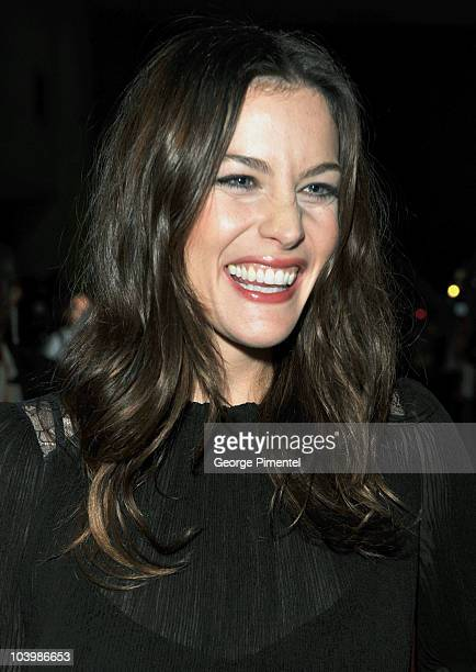 Actress Live Tyler arrives at the Super Premiere held at Ryerson Theatre during the 35th Toronto International Film Festival on September 10 2010 in...
