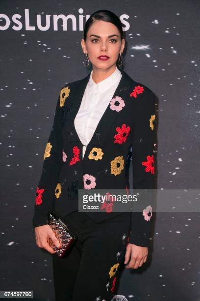 Actress Livia Brito poses during the 13th Luminus Awards at Telcel Theater on April 27 2017 in Mexico City Mexico