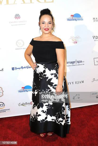 Actress Liz B Williams attends the Amare's Second Year Anniversary 'Believe Issue' Party held at Sofitel Los Angeles At Beverly Hills on December 13...