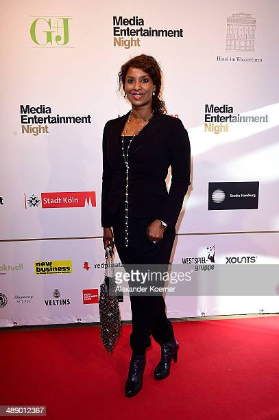 Actress Liz Baffoe attends the Media Entertainment Night at Hotel im Wasserturm on May 9 2014 in Cologne Germany