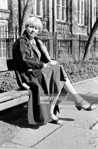 Actress Liz Dawn 10th April 1983