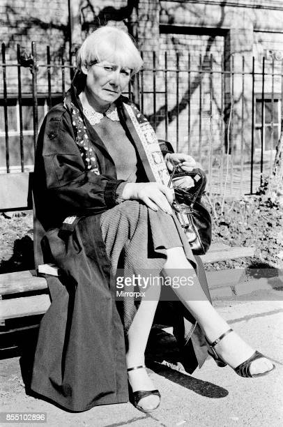 Actress Liz Dawn 10th April 1985