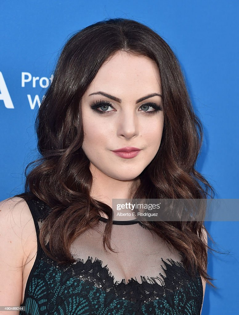 Actress Liz Gillies attends the 'Concert For Our Oceans' hosted by Seth MacFarlane benefitting Oceana at The Wallis Annenberg Center for the Performing Arts on September 28, 2015 in Beverly Hills, California.
